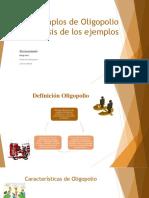 OLIGOPOLIO EJEMPLOS ECUADOR
