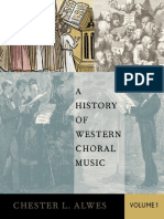 Alwes, Chester Lee-A History of Western Choral Music, Volume 1-Oxford University Press (2015)