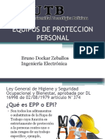 EQUPOSN DE PROTECCION PERSONAL PRESENTACION POWER POINT