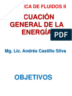 Ecuación de La Energia