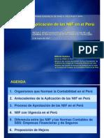 06 Aplicacion NIIF en El Peru