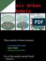 PPT _3 _Classic Urban Models