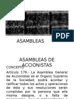 CLASE 21 ORGANOS DE LA SOCIEDAD ANONIMA. ASAMBLEAS.pptx