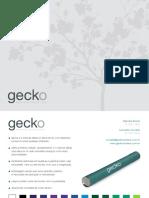 Catálogo Gecko