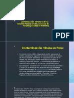 Contaminación Minera en Perú-contaminacion Ambiental