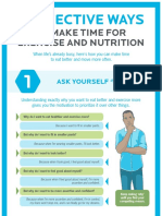 7 Effective Ways to Make More Time for Health Infographic Printer