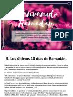 Ramadan - Seccion 5 - Los Ultimos 10 Dias