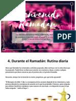 Ramadan - Seccion 4 - Durante El Ramadan