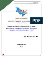 Bases Integradas PELT