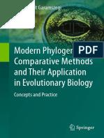 László Zsolt Garamszegi (Eds.) - Modern Phylogenetic Comparative Methods and Their Application in Evolutionary Biology_ Concepts and Practice (2014, Springer-Verlag Berlin Heidelberg)