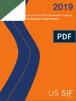 US SIF AssetOwner Roadmap