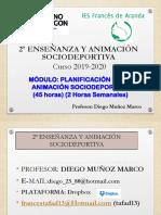 PLANIFICACION DE LA ANIMACION SOCIO DEPORTIVA