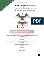 Calculo de Area de Cuenca Por El Metodo de La Balanza