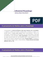O Profissional Museólogo WALDISA RUSSIO