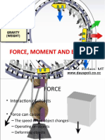 Force, Moment and Balance