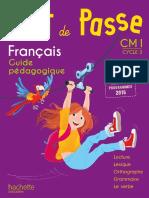 Mot De Passe Guide Pédagogique CM1 Français
