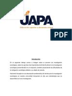 Sociología.tarea 5 .UAPA.