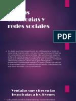 Nuevas Tectologías y Redes Sociales