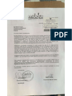 Carta de Organizaciones de México a Presidente Vizcarra - Caso Southern - Tía María