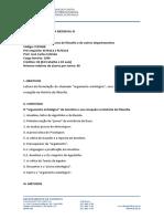 FLF0468 - Medieval III - Estevao - Argumento Ontologico