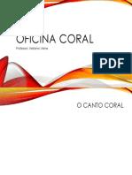 Oficina Coral