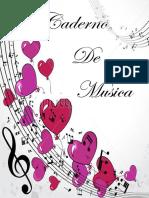 Caderno de música
