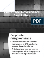 Corporate Governance and Etihcs