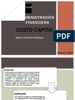 Costo Capital KVP