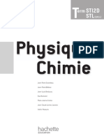 Physique-Chimie Term STI2D STL (SPCL)