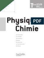 Physique-Chimie Term STI2D STL (SPCL)