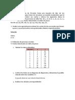 Ejercicios de Regrecion y Correlacion