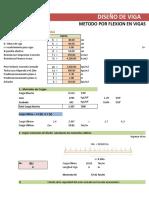 2.-Calculo Acero en Viga-Metodo Flexion