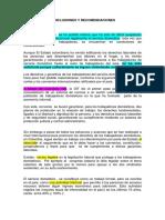 Conclusiones y Recomendaciones Monografia
