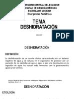 DESHIDRATACIÓN PEDIATRICA
