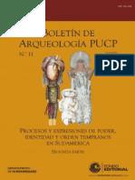 Boletin de arqueologia N° 11