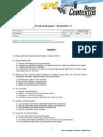 Teste_Fil11_Filosofia Do Conhecimento 2
