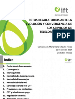 Retos Regulatorios IFT
