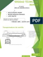 Transportador de Rastrillos (2)