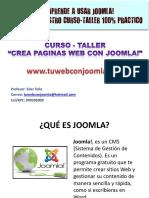 1.Introduccion Curso Joomla