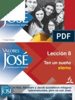 PPT Lección 8 - Valores de José - ESP