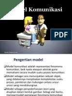 Presentation 4. Model komunikasi kesehatan FKM.pptx