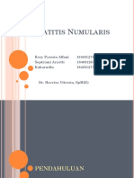MTE KERATITIS NUMULARIS - 3A - ( Kaharudin, Septiriani Aryetti, Rezy Pysesia Alfani)