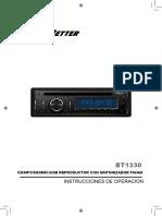 Bt1330 Manual