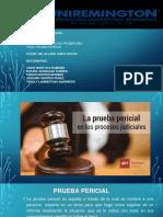 Exposicion de Derecho Probatorio Prueba Pericial (1)