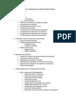Estructura Del Proyecto o Propuesta de Cableado Estructurado