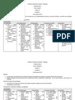 plan de area grado 5° 2019
