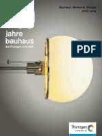 100 Jahre Bauhaus - Bauhaus.moderne.design 2018-2019