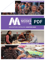 Mosesian Center for the Arts Winter Catalog 2020