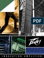 Catalogo de productos peavey