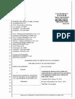 2 Contestação Monsanto Answer to Lawsuit